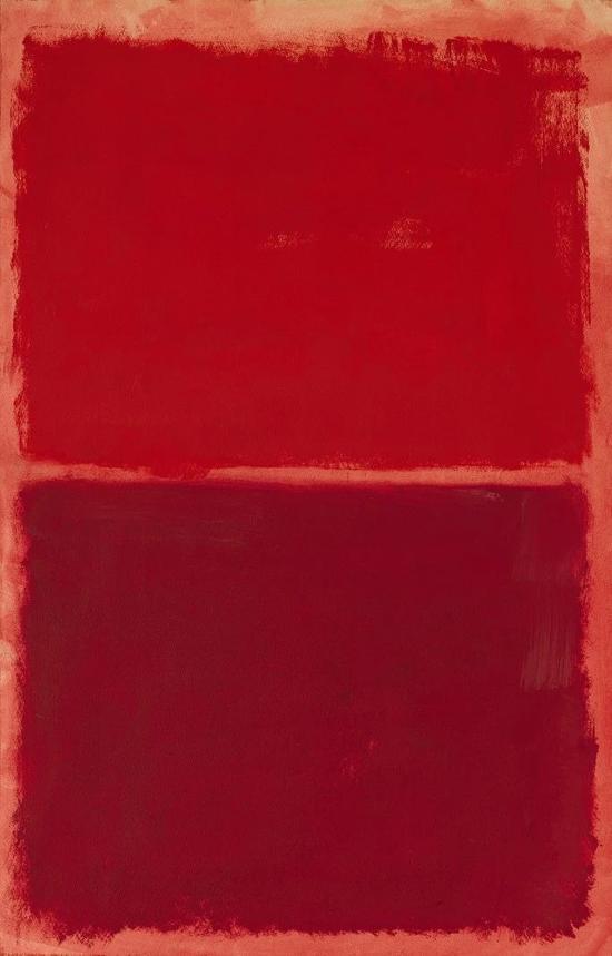 马克?罗斯科,《无题(红色上的红)》,1969年作,估价7,000,000–10,000,000美元