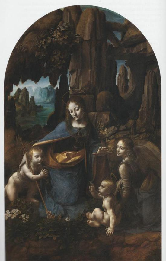 达·芬奇,岩石圣母