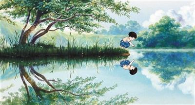 高畑勋的动画风格力求还原生活场景。