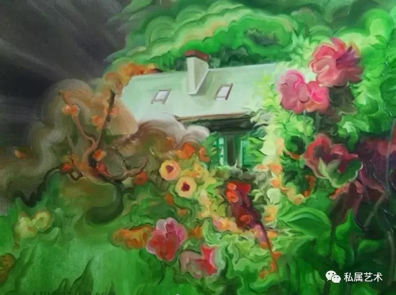 刘雅丹作品《梦房子》