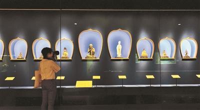 """""""传心之美——梵蒂冈博物馆馆藏中国文物展""""在神武门展厅开幕"""