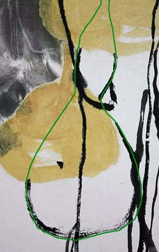 老人想画藤蔓,可心里想的还是葫芦。a