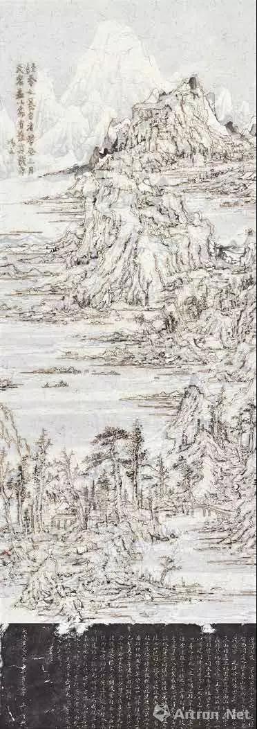 拍品编号333 王天德(中国,1960 年生) 《后山图 — 雪》