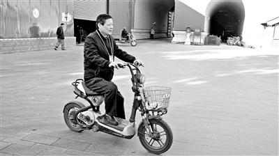 王有亮的电动车也很有名