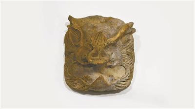 回鹘汗国 神兽纹建筑泥塑 蒙古出土