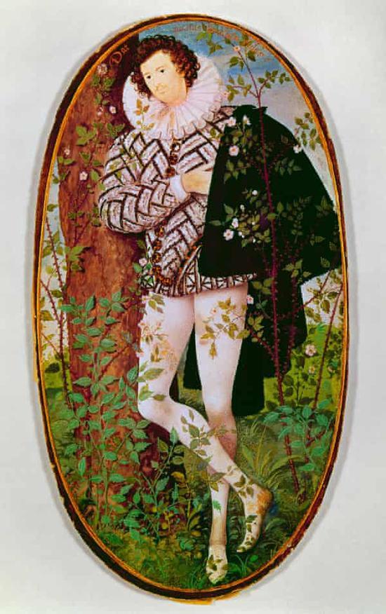 尼古拉斯·希威德,《不知名男子》,1600. 年
