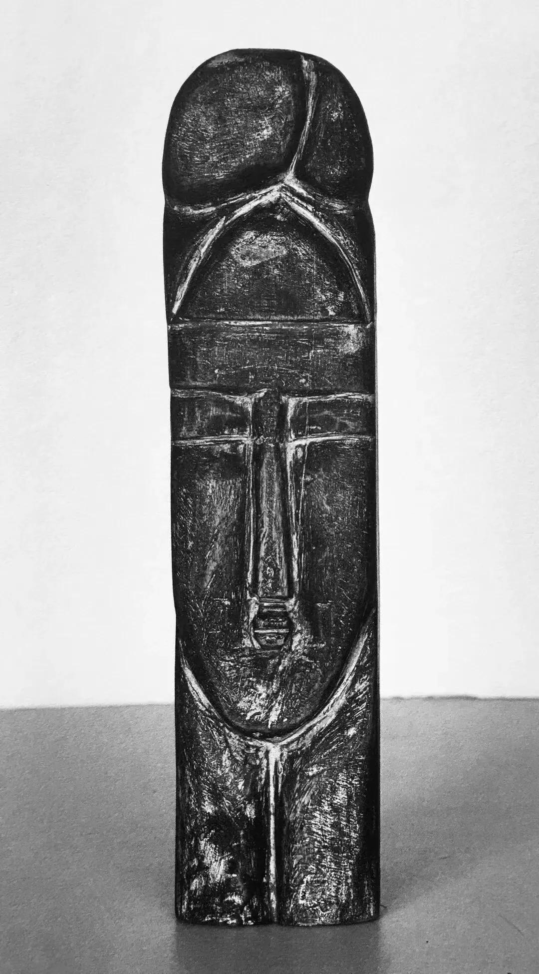 丁立人雕塑《慈母》,1994
