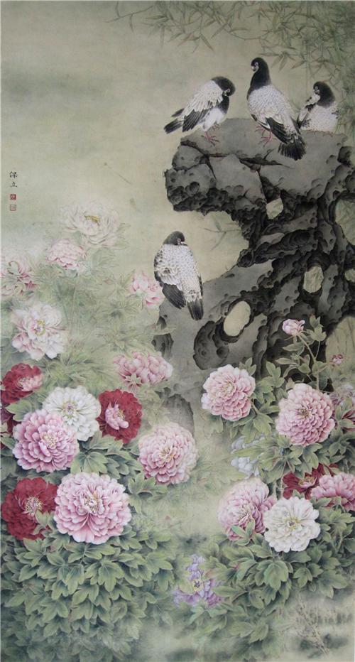 中国美术人物:著名画家陈保立
