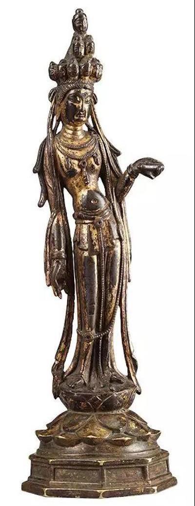 密十一面观音菩萨像