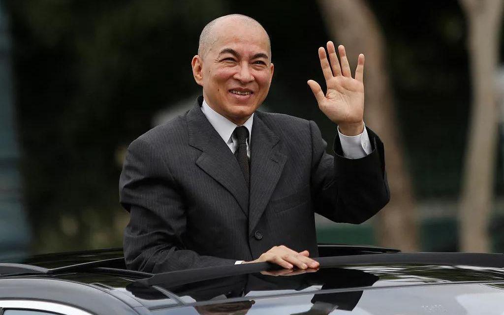柬埔寨国王西哈莫尼。图/视觉中国