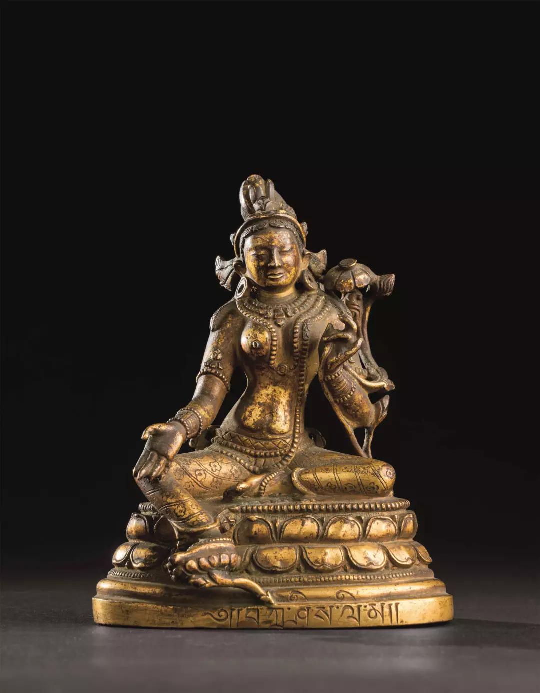 Lot 0275 唐代-五代(618-960) 蜜色瓷莲瓣碗 盏托