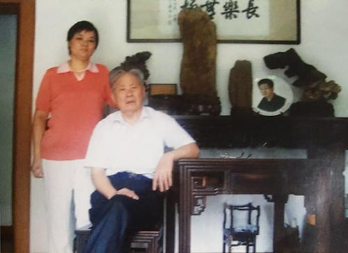 蒋凌云早年与徐汉棠合影