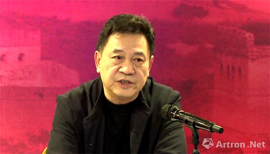 中国收藏家协会会长罗伯健讲话