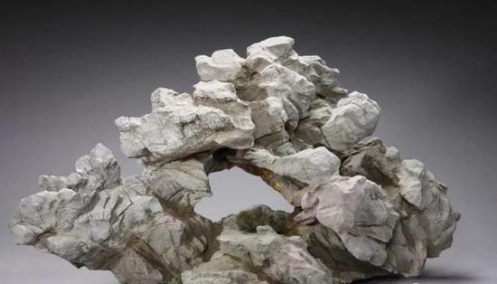 清·山景石