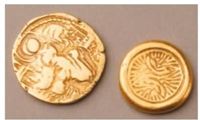 贵霜帝国金币