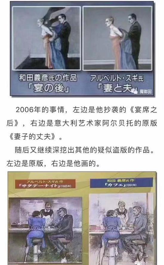 日本艺术家和田义彦的相关报道
