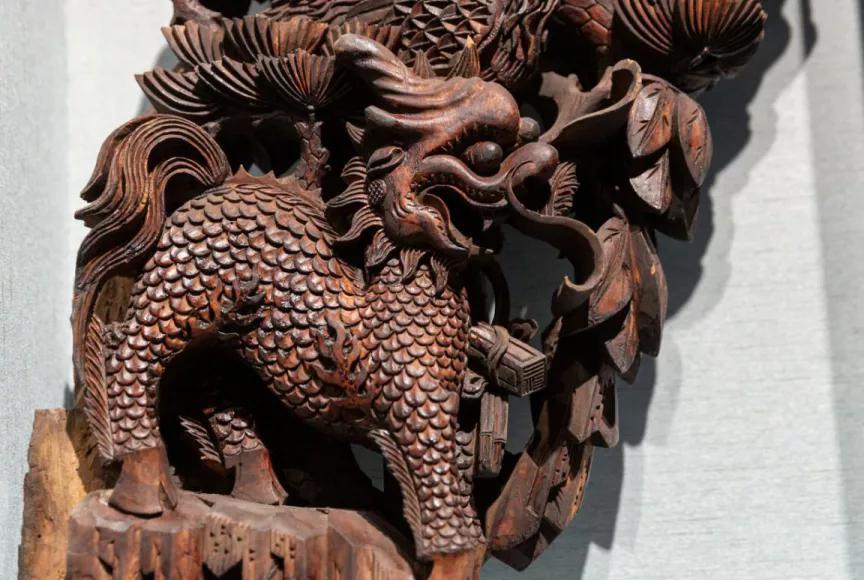 徽州古建之美|精致的木雕