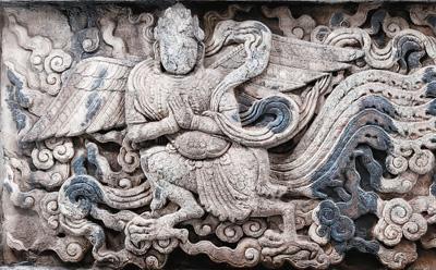 北京石刻艺术博物馆金刚宝座塔妙音鸟全细节立体图