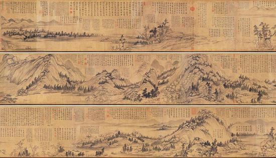 《富春山居图》子明卷 台北故宫博物院藏