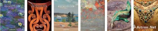 佩吉及大卫·洛克菲勒夫妇珍藏专拍的六本图录