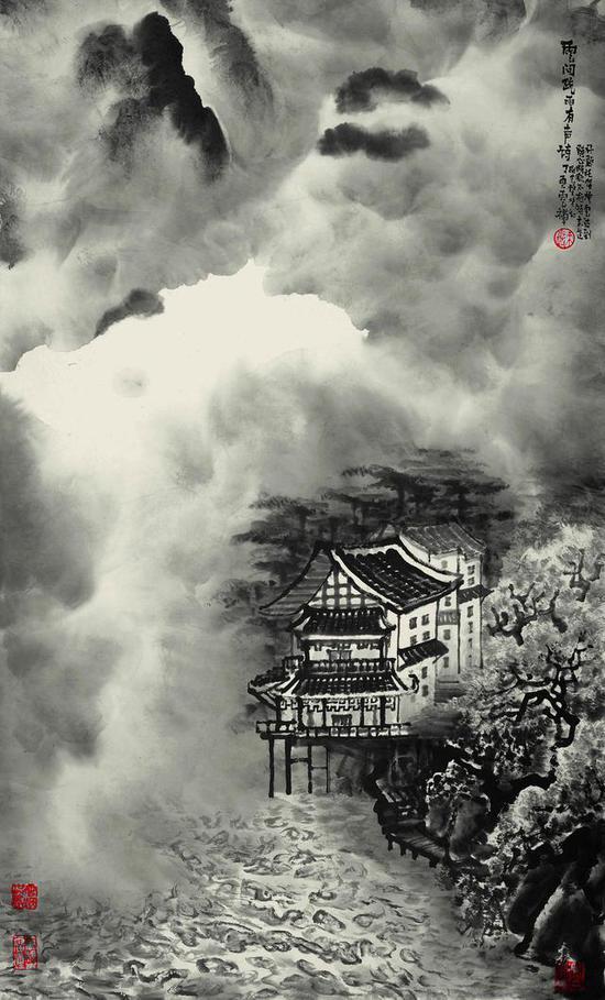云间疏雨有声诗