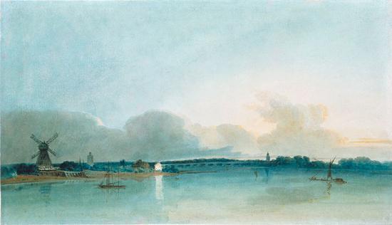 《格里松山的雪崩》,JMW Turner,1810年