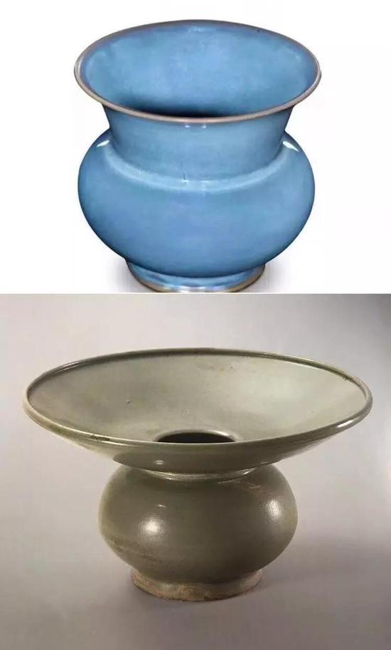 渣斗与唾壶的器型不同