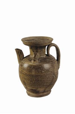 还保留有朴拙韵味的宣州窑青釉壶欣赏