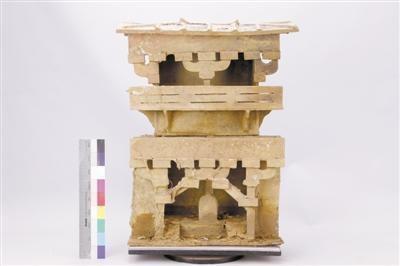 用科技手段复原东汉陶楼有多美