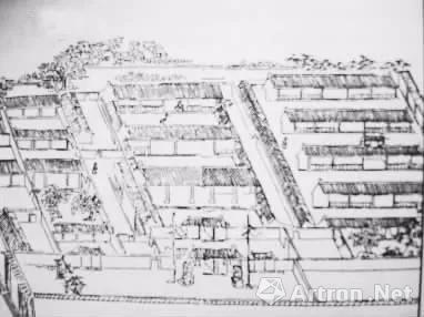 清人描绘的安定书院,图自《扬州晚报》2015年6月27日