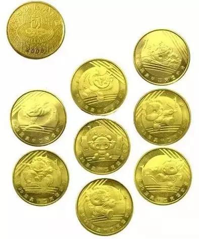 08奥运纪念币