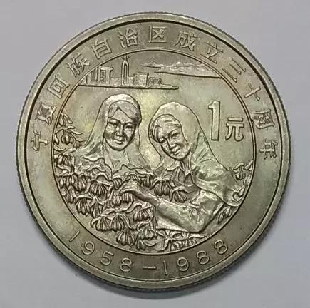 宁夏纪念币