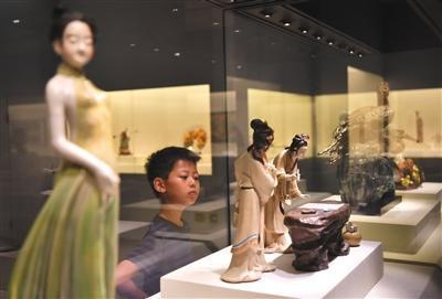两大文化展览在首博同日开幕