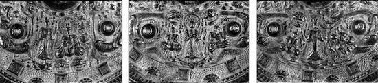 花纹带佛兽镜 日本古墓出土