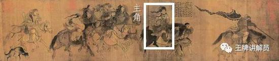 张瑀《文姬归汉图》,金代,吉林省博物馆藏