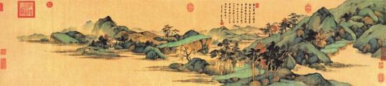 董其昌《昼锦堂书画合》卷 吉林省博物院藏