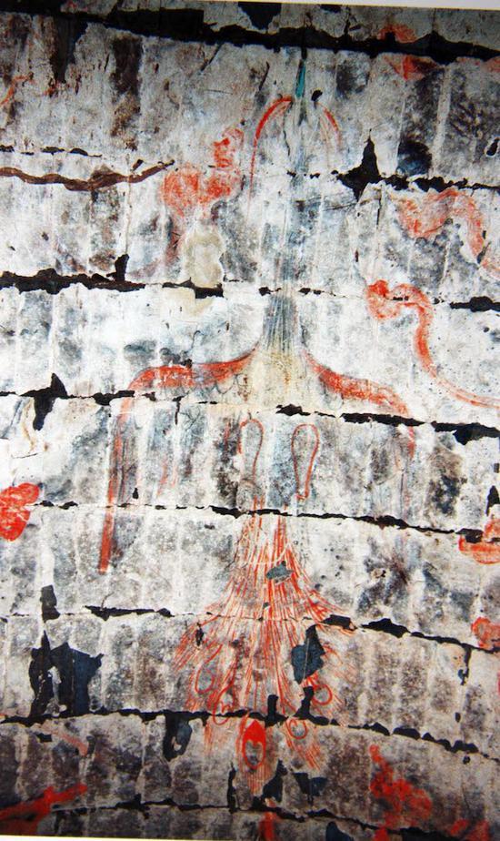 這些罕見西安西漢壁畫或能見證西漢繪畫的最高水平