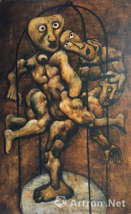 宋永平作品《舞蹈》 1990