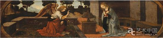 卢浮宫的《天使报喜》