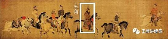 (传)李赞华《东丹王出行图》,宋摹本,美国波士顿美术馆藏