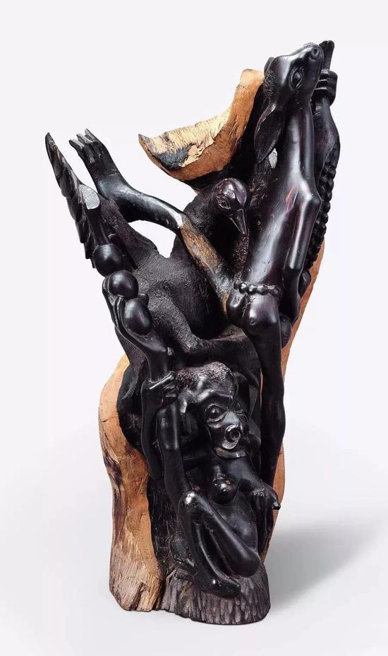 西泰尼 马库提(坦桑尼亚)1990年代55.5×28.3×19.1cm