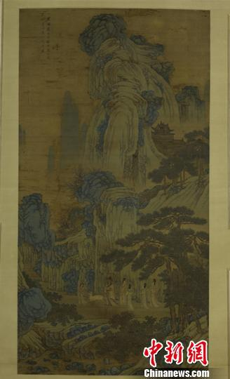沈周《临戴进谢安东山图》。 上海博物馆 供图