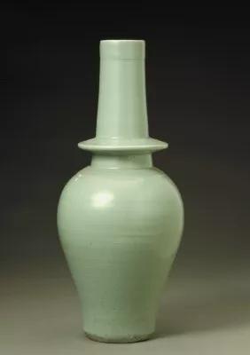 龙泉窑青釉净瓶元 故宫博物院
