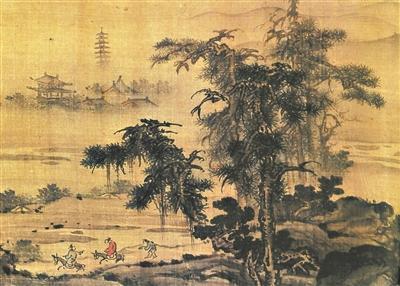 广东画家留下来的第一张名画