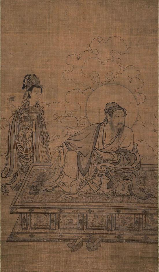 李公麟《维摩居士像》 京都国立博物馆藏