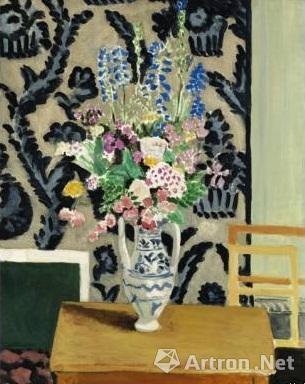 4、《黑色椅子上的宫女》,伦敦蘇富比,2015年3月,成交价:1582.9万英镑;