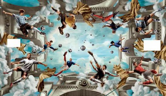 菲利克斯·雷登巴赫《阿迪达斯壁画》,科隆(2006)