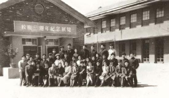 1953年,中央美院三周年校庆