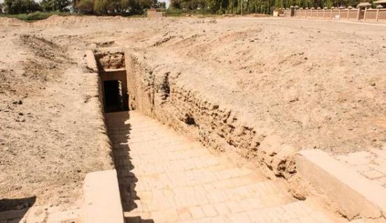 吐鲁番阿斯塔纳墓