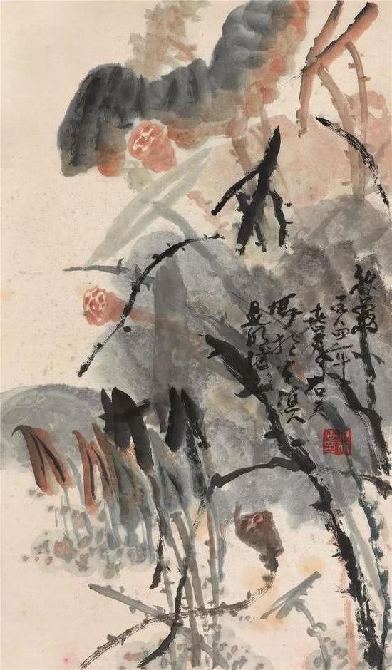 杨佴旻的水墨画